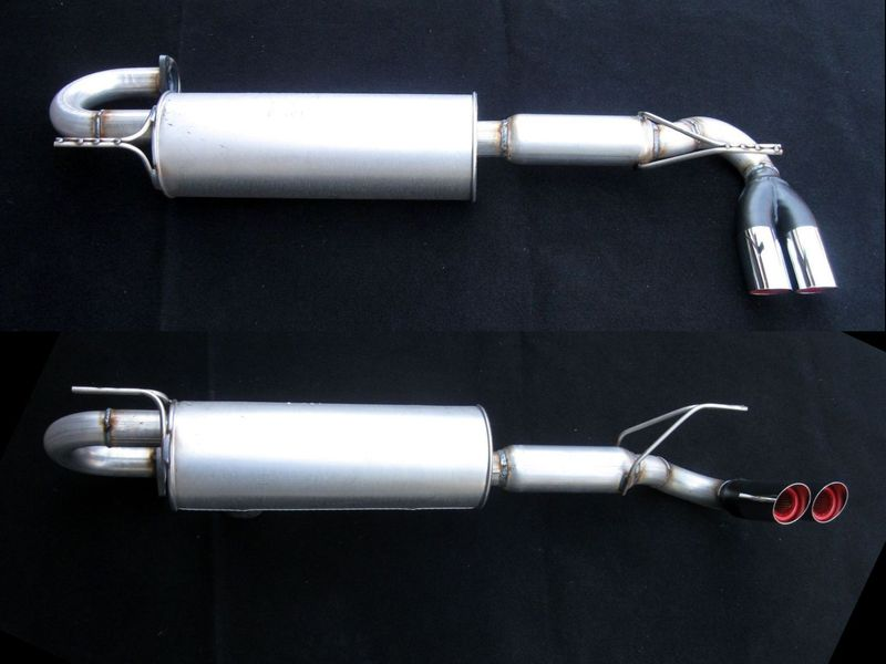 MR2 NA Cat-Back Sport Muffler